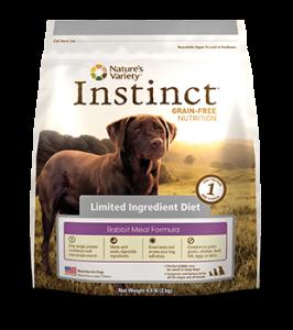 Instinct Grain Free Limited Ingredient Kibble Cat Food Rabbit
