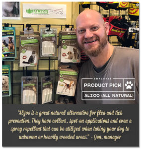 Employee Product Pick Alzoo All Natural 4paws