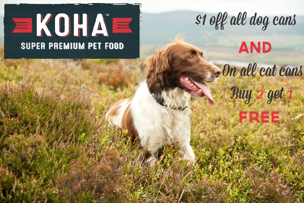 Koha Premium Pet Food