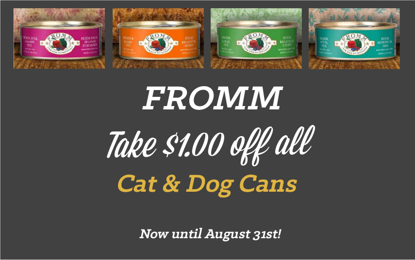 Fromm Promo 4paws